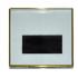Акриловый магнит 10 х 10 см.  с тиснением золото.