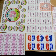 Комплект наклеек  для детского садика