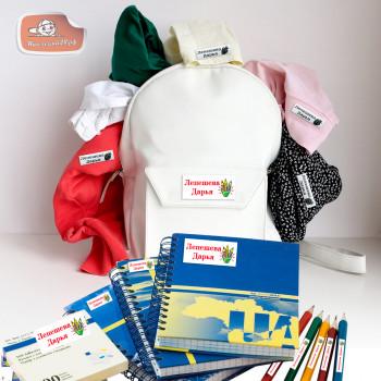 Школьник 2 ( этикетки для одежды термо сатин)