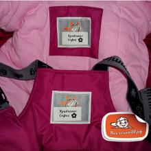 Термо стикеры для  школьной и спортивной формы на основе ткани нейлон